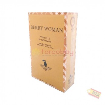 NATURMAIS BERRY WOMAN EDT FRAU 100 ml