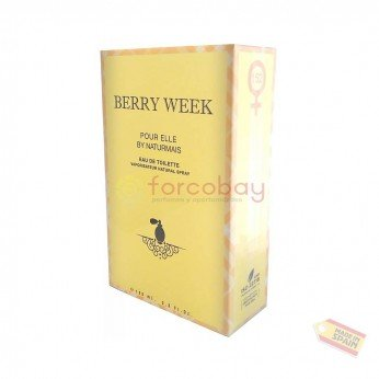 NATURMAIS BERRY WEEK EDT DONNA 100 ml