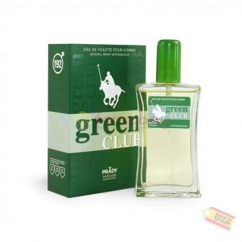 PRADY 192 GREEN CLUB EDT UOMO 100 ml
