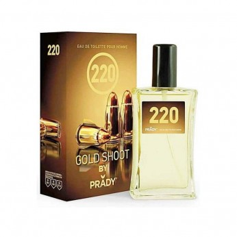 PRADY 220 GOLD SHOOT EDT HOMEM 100 ml